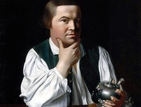 Washing Hands With Paul Revere